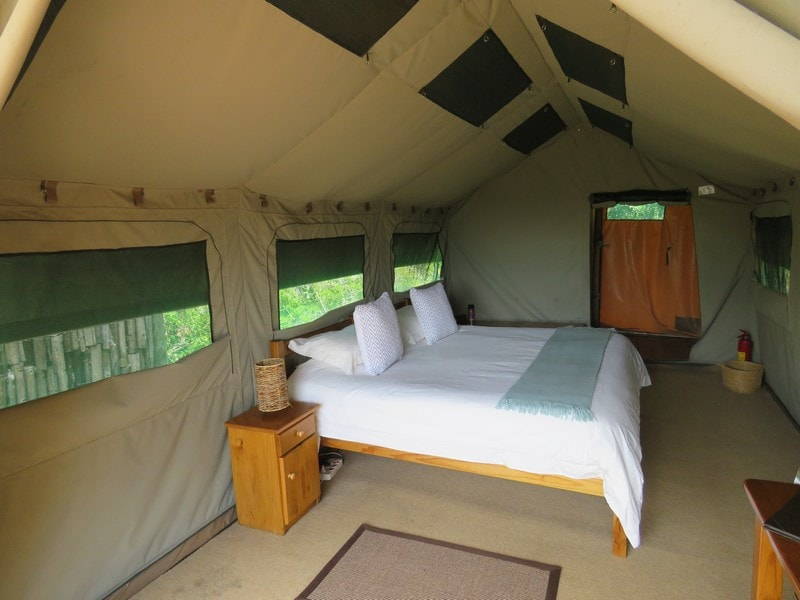Amakhala Eastern Cape Safari Accommodation King Tent Bedroom Min